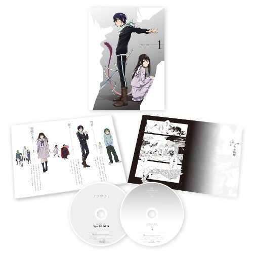 Noragami 1 [Limited] [DVD-AUDIO]