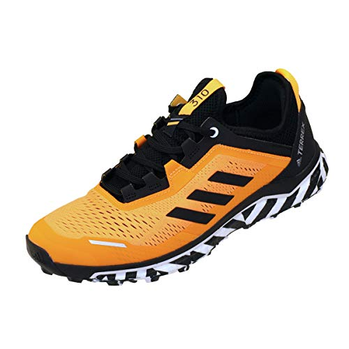 adidas Terrex Agravic Flow, Zapatillas de Running Hombre, Dorsol/NEGBÁS/FTWBLA, 41 1/3 EU ⭐