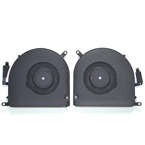 OLVINS CPU-Kühler Links und rechts Set Ersatz für MacBook Pro Retina A1398 Lüfter (Ende 2013, Mitte 2014, Mitte 2015)