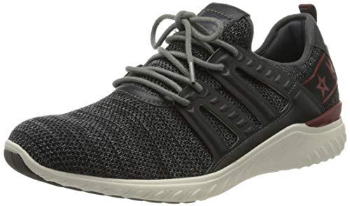 MUSTANG Herren 4132-304-259 Sneaker, Grau (Graphit 259), 45 EU