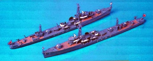 1/700 Japanese Navy torpedo boat pheasant (two vessels entering) W42 (japan import)