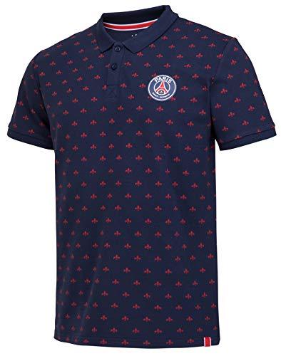 Paris Saint-Germain Poloshirt PSG, offizielle Kollektion, Herrengröße XL blau