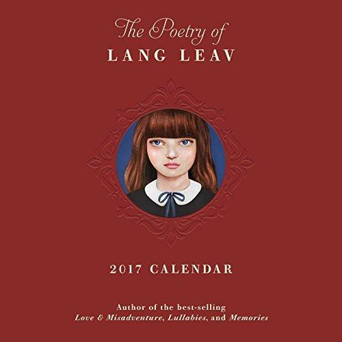 The Poetry of Lang Leav 2017 Wall Calendar by Lang Leav (2016-06-21)