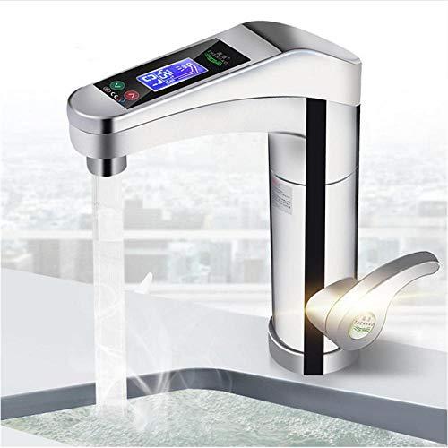 Zglizty Led Elektro Wasserhahn Warmwasserbereiter Instant Warmwasser Wasserhahn Home Bad Küche Heizung Supplies 220V