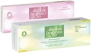 Atlas Family Planning Pack - Bundle of 1 Box of Ovulation Test/Midstream Type includes 3 Tests per Box/ 1 Box Pregnancy Te...