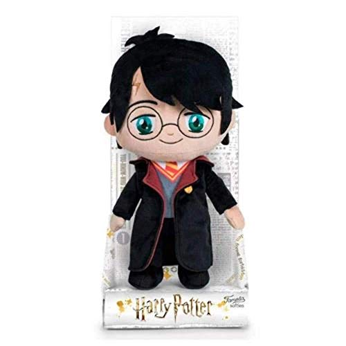 Harry Potter 760018459 Peluche 20 cm 4 Modes, pour Enfants, 20 cm