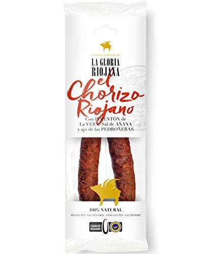 Martínez Somalo Chorizo Pimentado Embutido Sarta 100 % Natural Igp Riojano - Indicación Geográfica Protegida 300 g