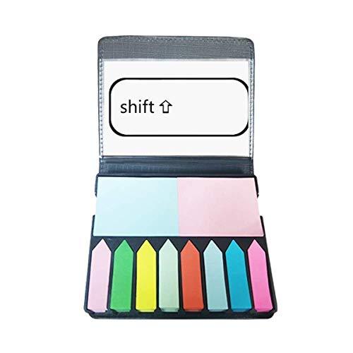 Toetsenbord Symbool Shift Zelf Stick Opmerking Kleur Pagina Marker Doos
