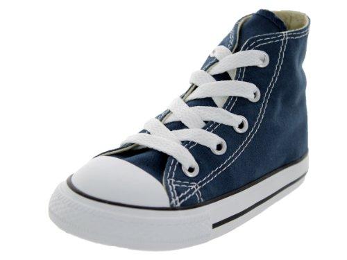 Converse Ctas Core Hi 015860-21-10, Unisex - Kinder Sneaker, Blau (Marine), EU 22