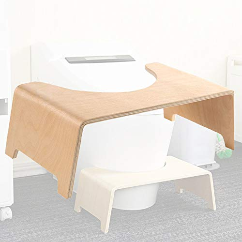Taburete de inodoro en cuclillas, asiento de madera de madera para niños, asiento de baño, antideslizante, baño, taburete para niños, mujeres embarazadas, personas, edad, edad, edad, aseo, postura ade