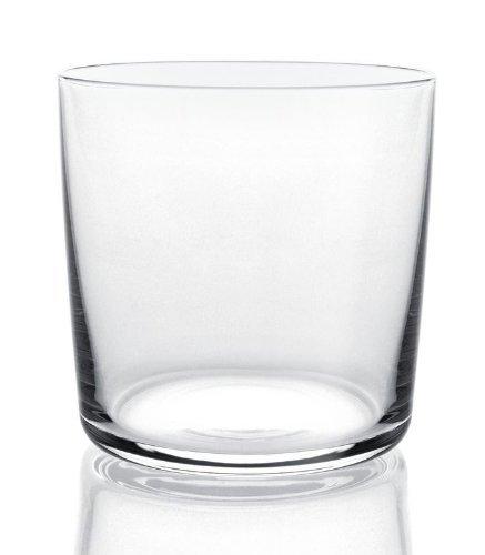 Alessi Glass Family AJM29/41 Set di 4 Bicchieri di Design per Acqua e Long Drink in Vetro Cristallino