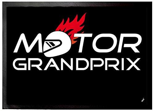 1art1 Motorsport - Motor Grand Prix Felpudo Alfombra (70 x 50cm)