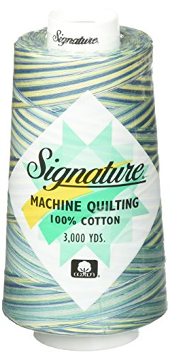 %6 OFF! Signature Quilting Thread, 3000 yd, Variegated St Thomas