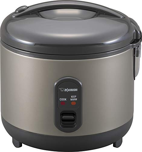 Zojirushi Rice Cooker and Warmer, 1.0-Liter, Metallic Gray
