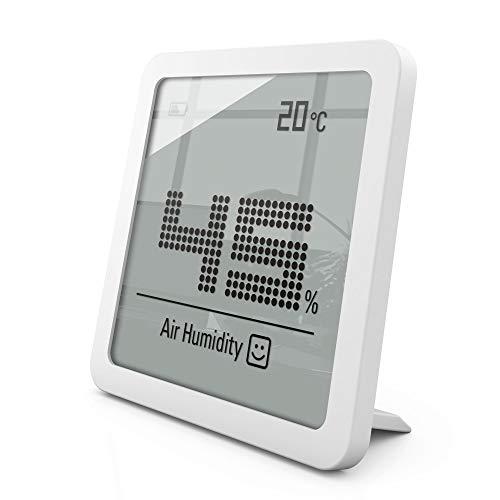 Stadler Form Hygrometer Selina little, präzises digitales Messgerät für Luftfeuchtigkeit und Temperatur, weiss