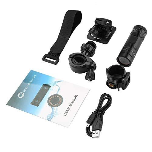 Full HD 1080P DV Mini wasserdichte Sport Kamera Fahrrad Helm Action DVR Video Cam 120 Grad Weitwinkel F9 schwarz
