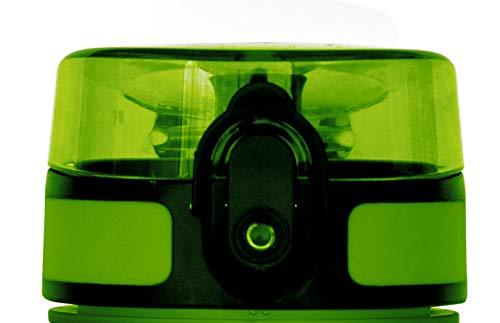 coolrhino Ersatz-Deckel Schwarz, Blau, Gelb, Grau und Dunkelblau | Passend für rhinosport Trinkflasche 350ml I 650 ml I 1000ml I 1500ml (05 Gelb I Yellow, L 650ml I 1000ml I 1500ml)