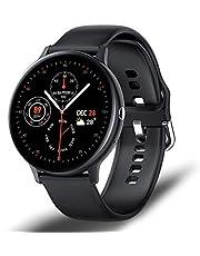 LJMG I11 smart full touchklocka bluetooth samtal spela musik smartklocka kvinnor IP68 sport puls fitness tracker män sportklocka för Android IOS