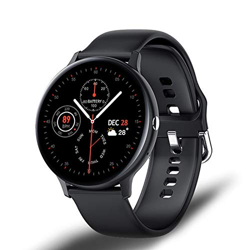 ZGLXZ I11 Smart Watch Bluetooth Call Play Music Fitness Pulsera Smartwatch Mujeres Impermeable Touch Touch Digital Reloj Digital Hombres Adecuados para Android iOS,D
