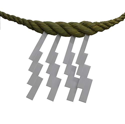神棚用中太しめ縄6尺日本製藁製紙垂4枚付注連縄しめなわ国産手造り鼓胴型