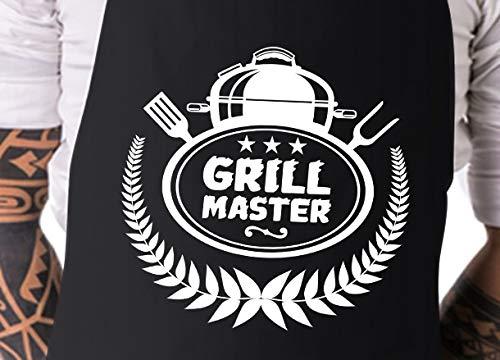 Elani BBQ Schort | Grill Master | BBQ Schort voor mannen | Mannen geschenken