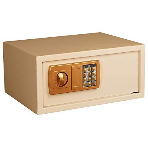 YJF-ZWS Cajas Fuertes De Pared Caja De Seguridad para Archivos De Oficina Caja De Seguridad para Cabecera Caja Fuerte para Joyas Mini Caja De Efectivo Armario De Almacenamiento,Oro