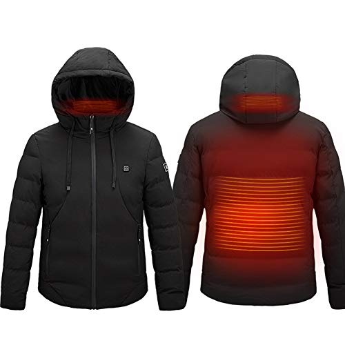 410PIOwX08L. SS500  - Heated Jacket, Electric Heating Jacket, Adult Washable Heated Clothing USB Charging Body Warmer Gilet for Outdoor…