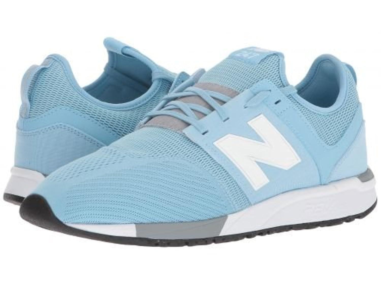 New Balance Classics(ニューバランス クラシック) メンズ 男性用 シューズ 靴 スニーカー 運動靴 MRL247v1 - Light Blue/White [並行輸入品]