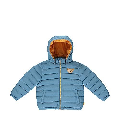 Steiff Jungen mit süßer Teddybärapplikation Jacke, Coronet Blue, 110
