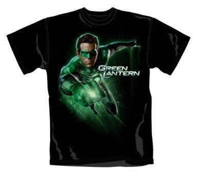 for-collectors-only Green Lantern Camiseta de Glowing Anillo en tamaño XL