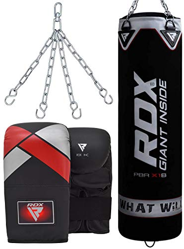 Boxing,Punching bag with chain  /& Punching  gloves