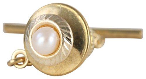 David Van Hagen 9ct de perle de culture cravate Tac de