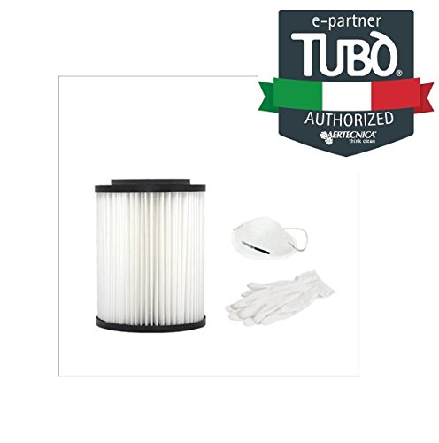 Cartouche filtre Precision en polyester lavable pour tx2 a, tp2 a, TP2, Taille TC2 accessoires et pièces détachées aspiration centralisée Tubò aertecnica Spa