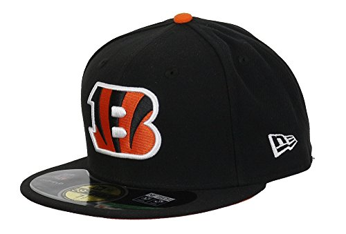 New Era Cincinnati Bengals Basecap NFL on Field Black/Orange/White - 7-56cm