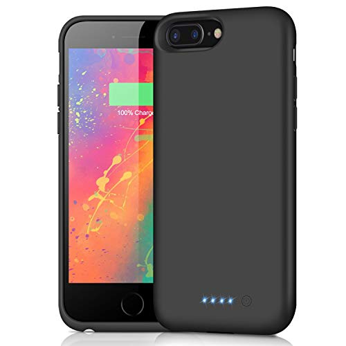 Swyop Battery Case for iPhone 6s Plus/ 6 Plus/ 7 Plus/ 8 Plus [8500mAh],Protective Portable Charger Case Rechargeable Charging Case, Battery Pack Cover Power Bank for 6s Plus/ 7 Plus (5.5 inch)