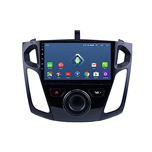 9 pulgadas 2.5D Android 8,1 reproductor de DVD GPS para coche para Ford Focus 2012-2018 Radio de coche estéreo Unidad principal de navegación