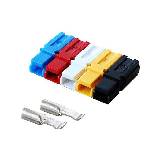 バッテリーコネクタ シングルタイプ 18A,18-16AWG, BMC1S-1-E 2セット入 <レッド>