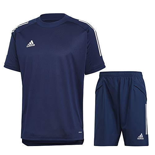 adidas Condivo 20 Trainingsset Herren dunkelblau weiß Gr L