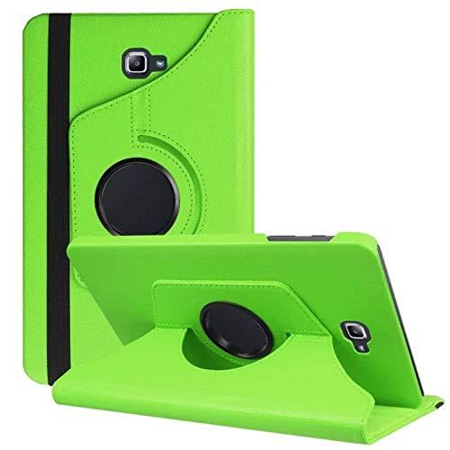 Tasche für Samsung Galaxy Tab A SM-T580 SM-T585 10.1 Zoll Schutz Hülle Flip Tablet Cover Hülle (Grün) NEU