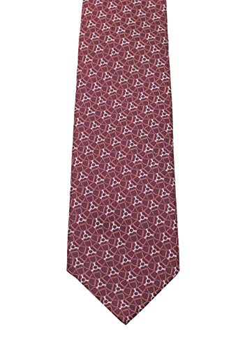 Gucci CL Purple Patterned Tie