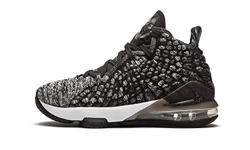Nike Youth Lebron 17 (Gs) Black/White Bq5594 002 - Size 5