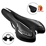 Best Mens Bicycle Seats - SGODDE Comfortable Bike Seat, Gel Bicycle Saddle Padded Review