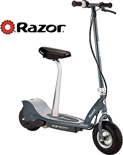 Razor E300S Seated Electric Scooter - Matte Gray