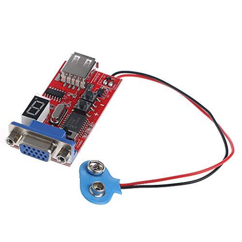 FXCO - Generador de señal de Color, módulo de Prueba de Pantalla de Cristal líquido VGA 13 señales Diferentes