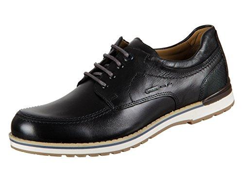 FRETZ men Lee, Zapatos de Cordones Derby Hombre, Negro 51, 43 EU