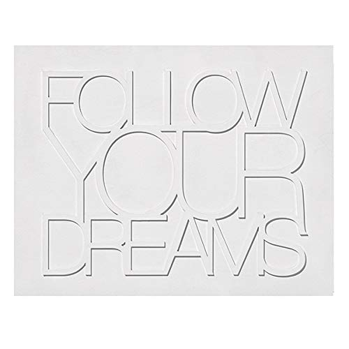 Räder Design - Wandbild - Wandpoesie - Holz Follow Your. Dreams 420x330x20mm