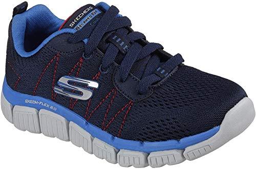 Skechers Jungen Skech Flex 2.0 - Quick Pick Sneaker, Blau (Navy/Blue), 29 EU