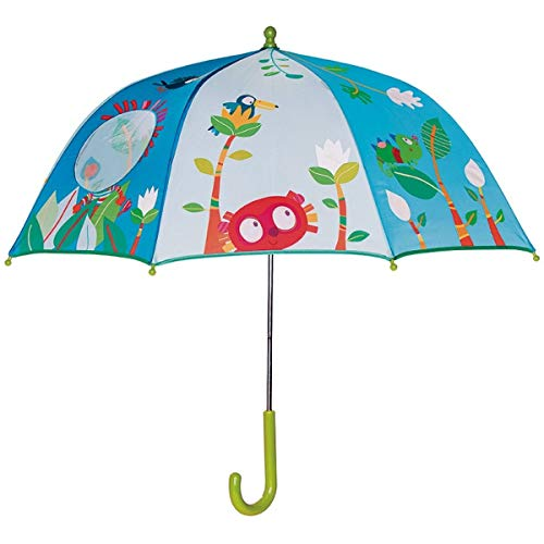 Lilliputiens 86895 Georges Regenschirm für Kinder, 75x68 cm