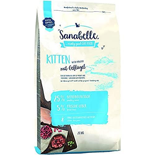 bosch Sanabelle Kitten | 2kg Katzenfutter Trocken für Katzenwelpen