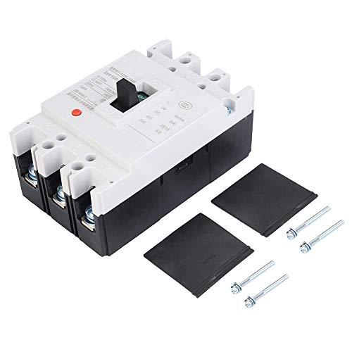 LIPENLI Circuit Breaker, 100A, 3 polos y Protección diferencial automático inteligente de circuito en caja moldeada interruptor neumático